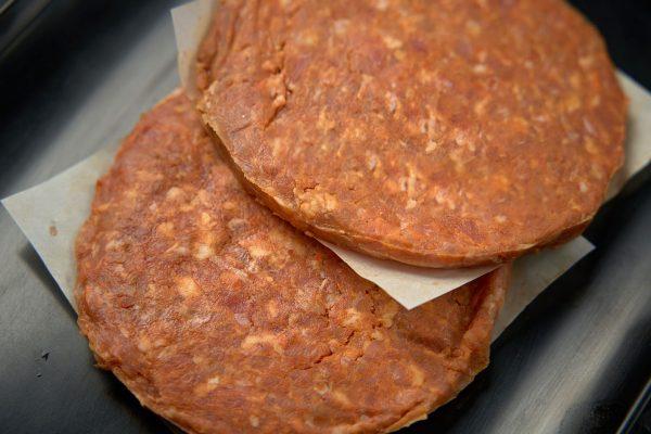 Pork & Chorizo Burger